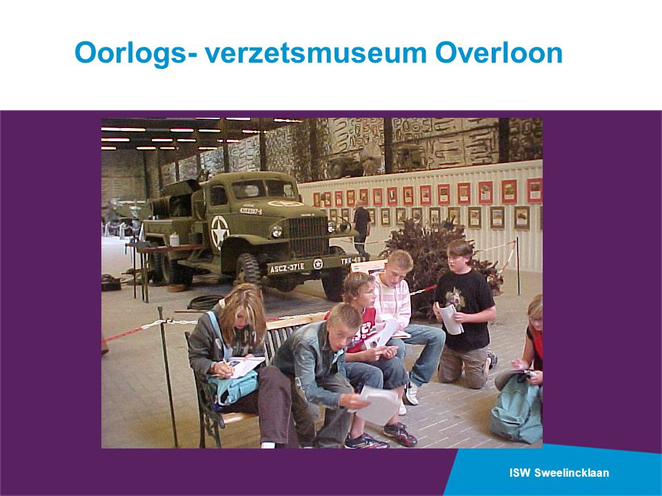 Oorlogs- verzetsmuseum Overloon