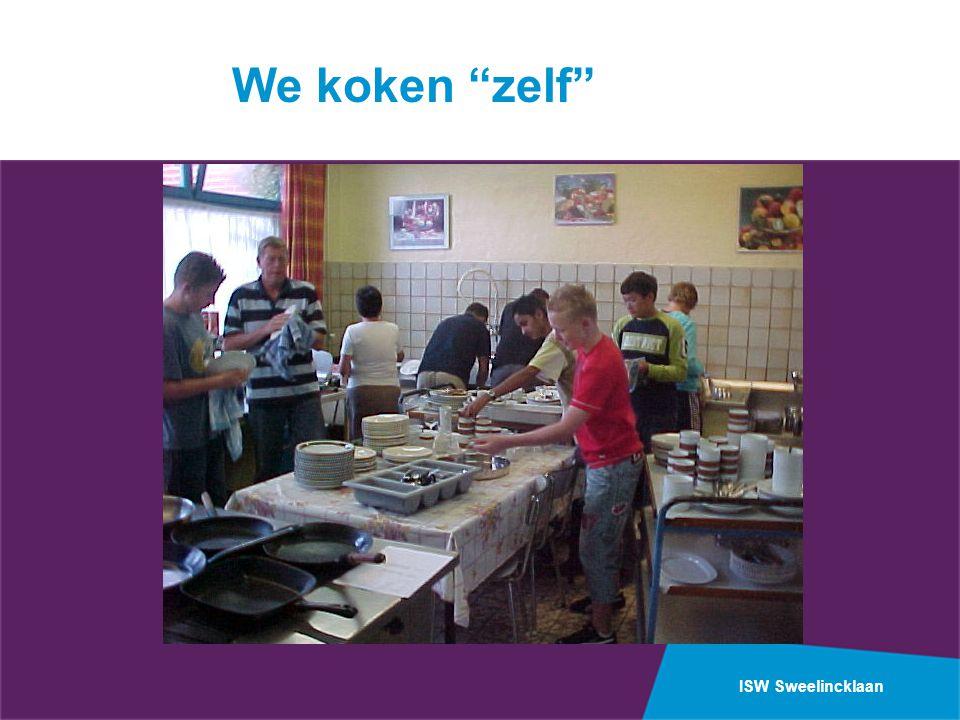 We koken zelf