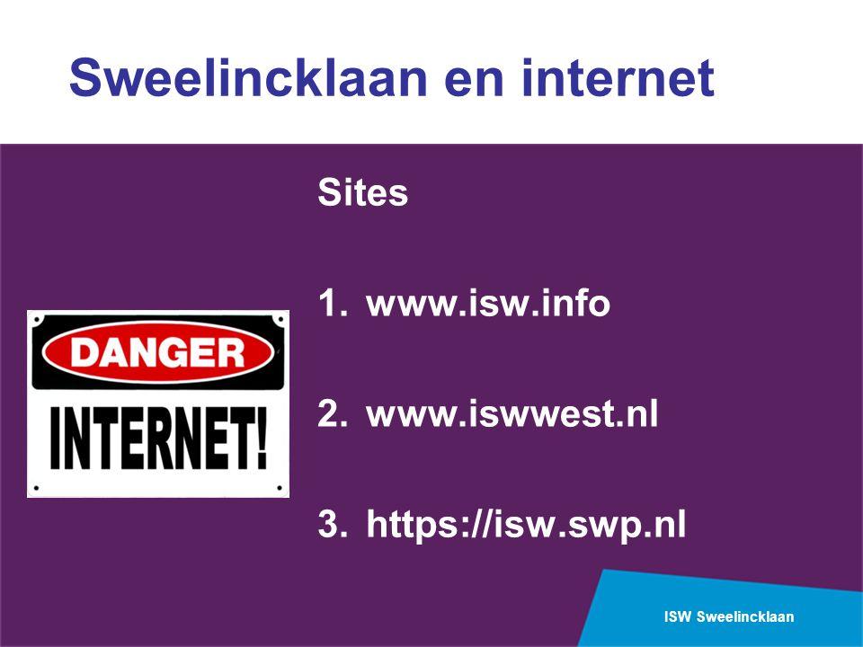Sweelincklaan en internet
