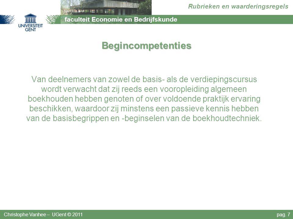Begincompetenties