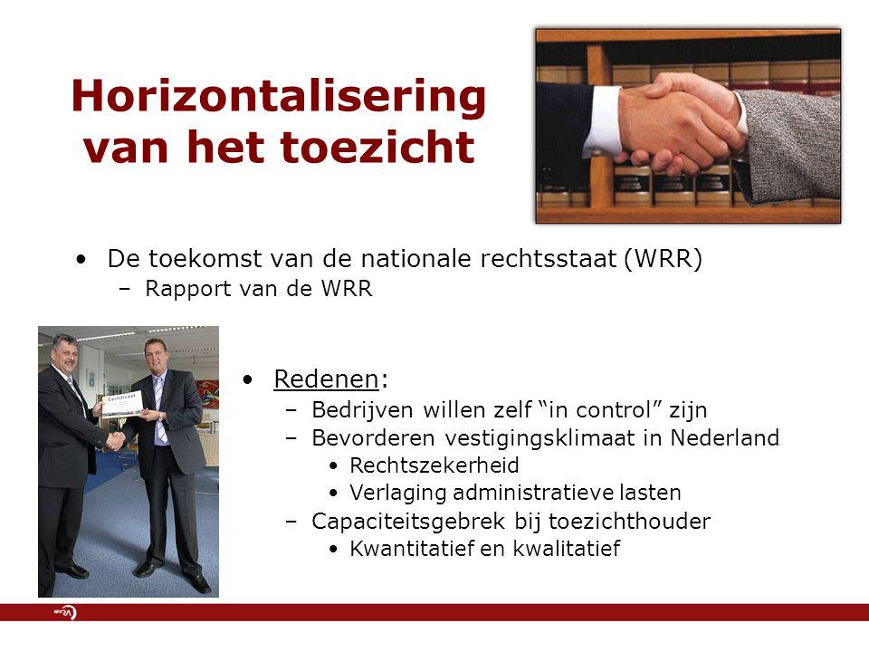Horizontalisering van het toezicht