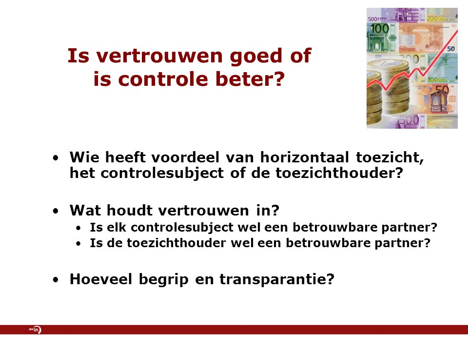 Is vertrouwen goed of is controle beter