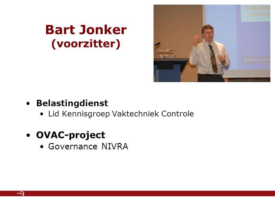 Bart Jonker (voorzitter)