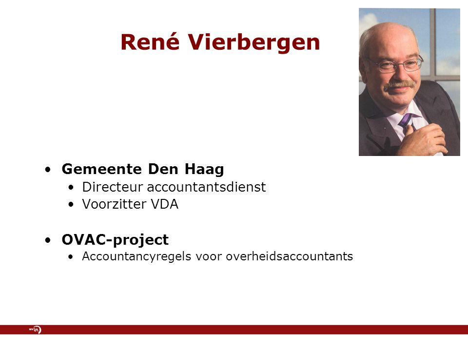 René Vierbergen Gemeente Den Haag OVAC-project