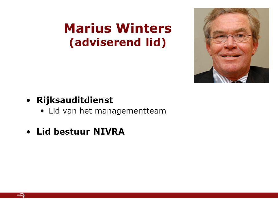Marius Winters (adviserend lid)