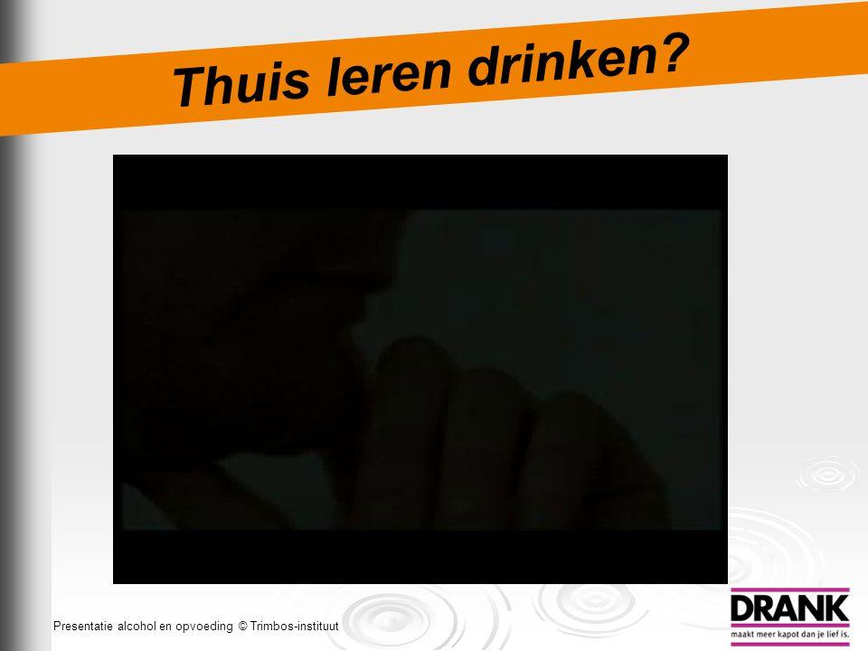 Thuis leren drinken Dia 22: