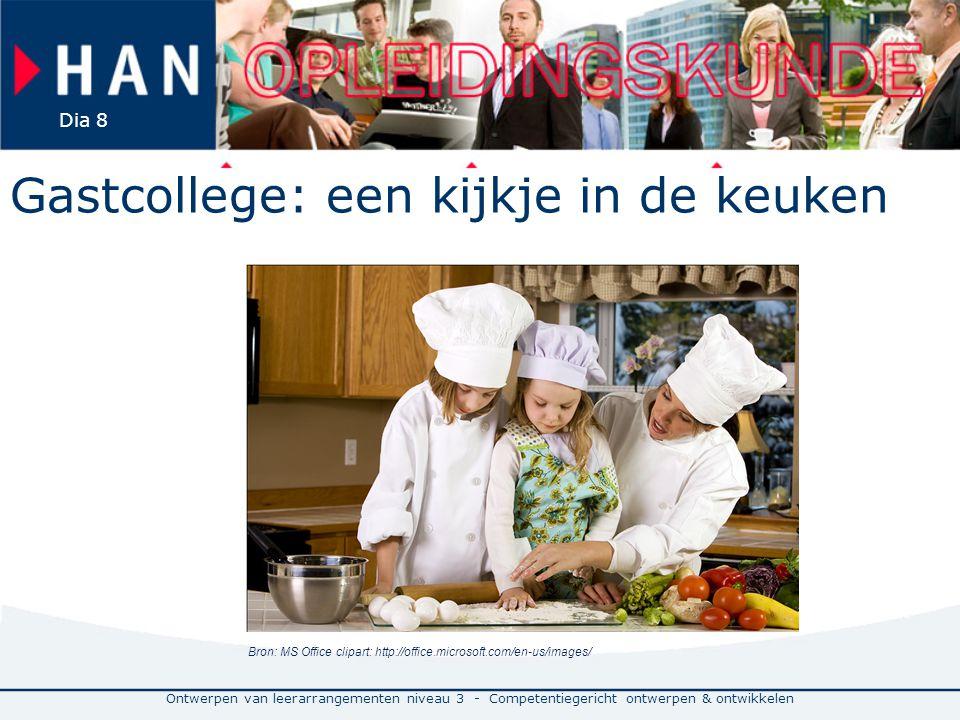 Gastcollege: een kijkje in de keuken