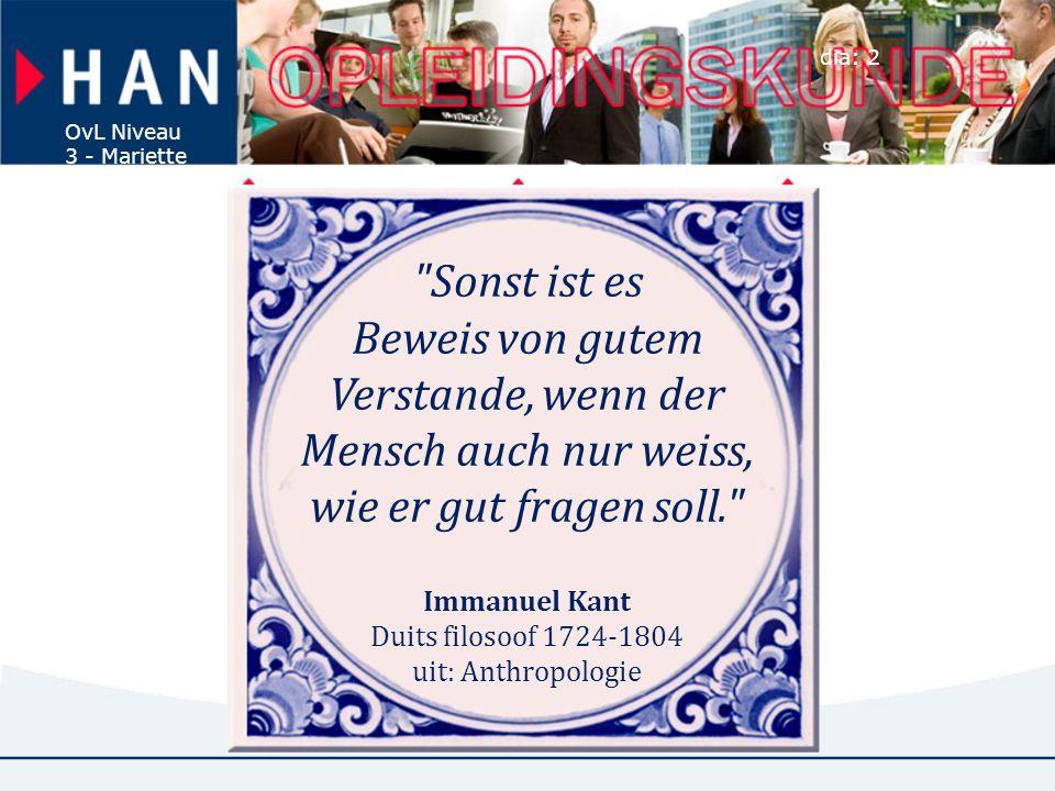 Immanuel Kant Duits filosoof 1724-1804 uit: Anthropologie