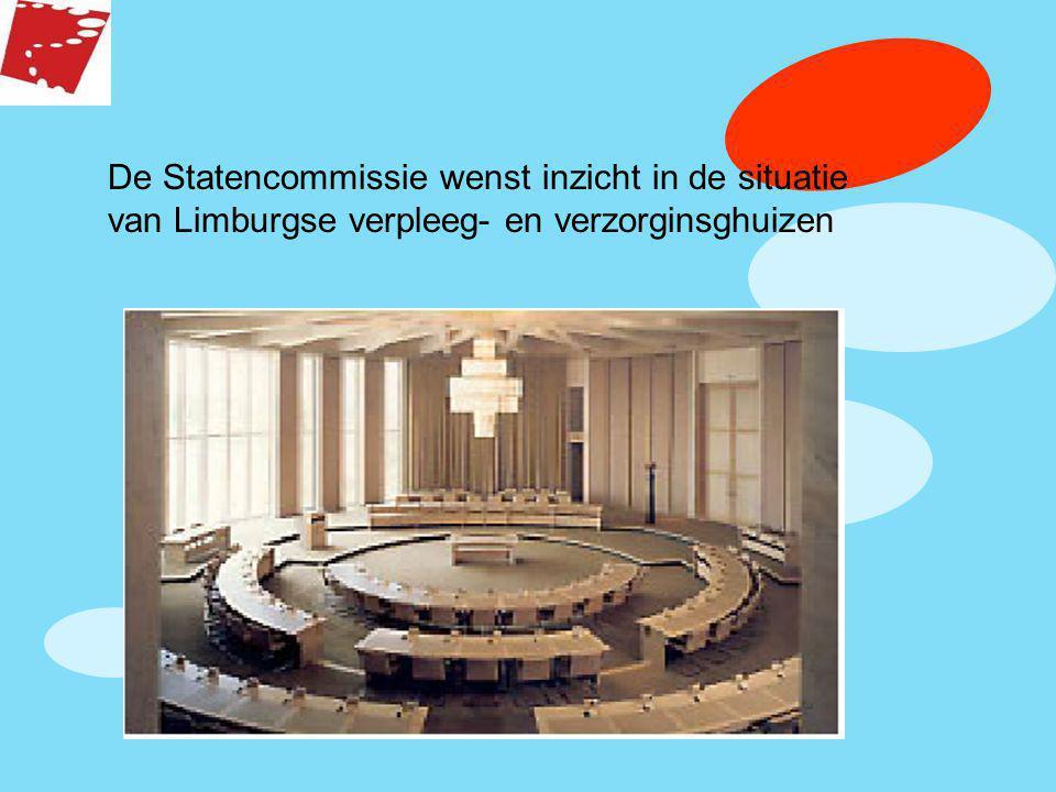 De Statencommissie wenst inzicht in de situatie van Limburgse verpleeg- en verzorginsghuizen