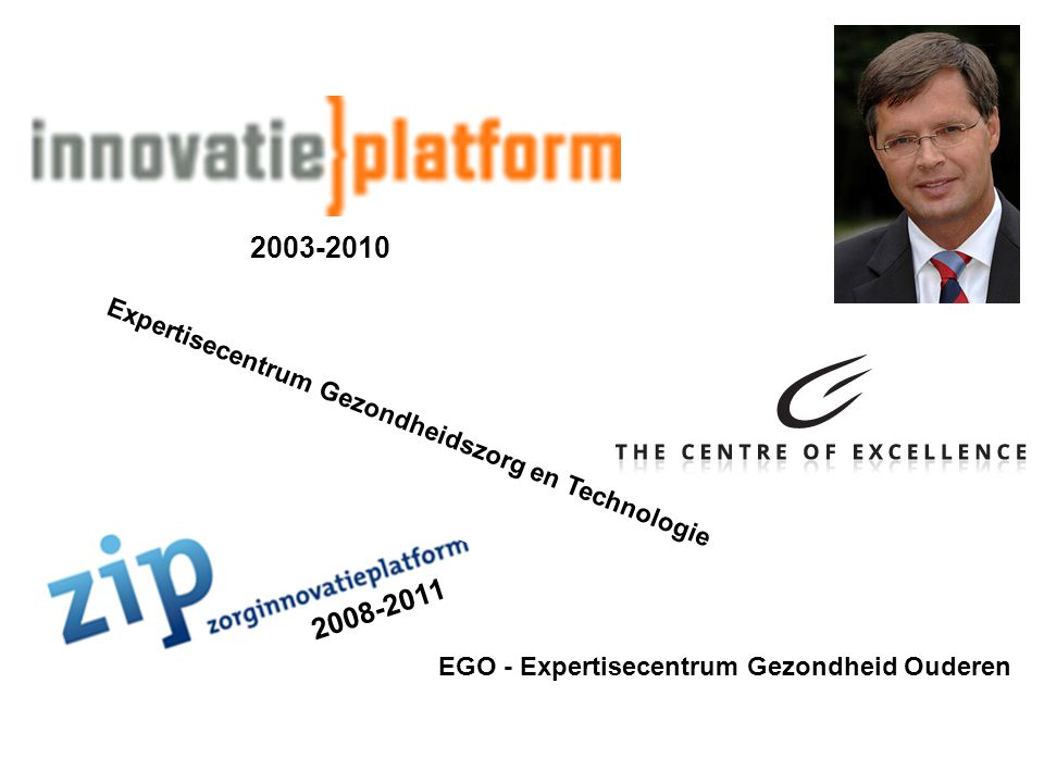 2003-2010 2008-2011 Expertisecentrum Gezondheidszorg en Technologie