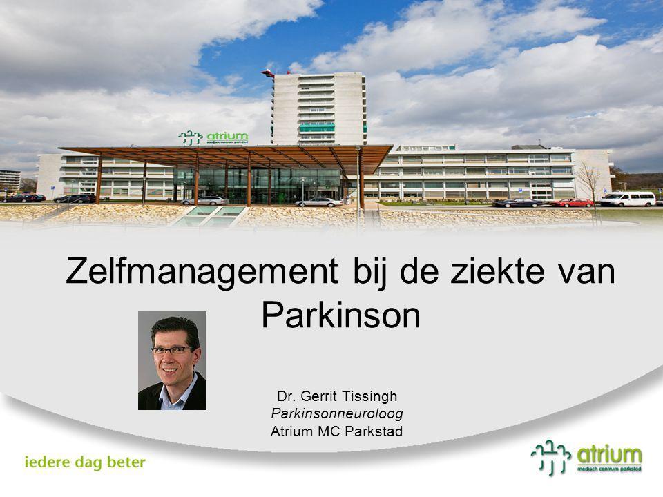 Zelfmanagement bij de ziekte van Parkinson