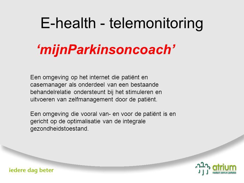 E-health - telemonitoring