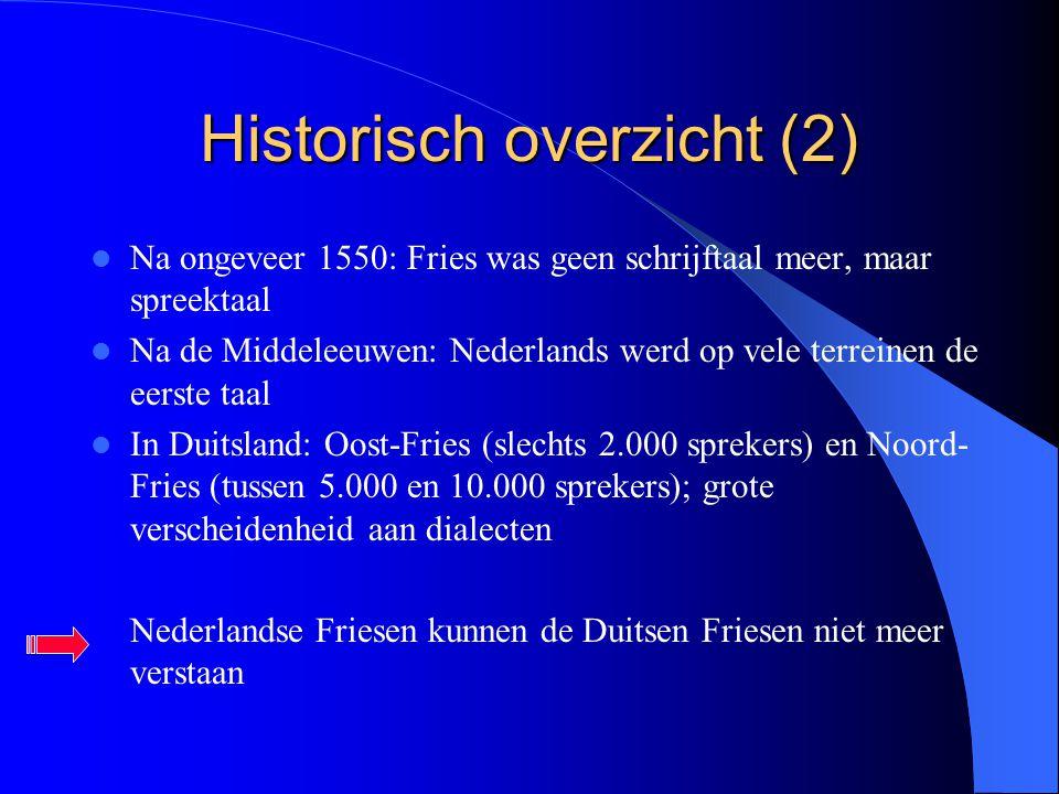 Historisch overzicht (2)