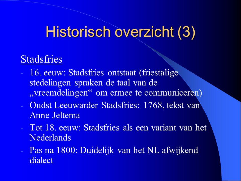 Historisch overzicht (3)