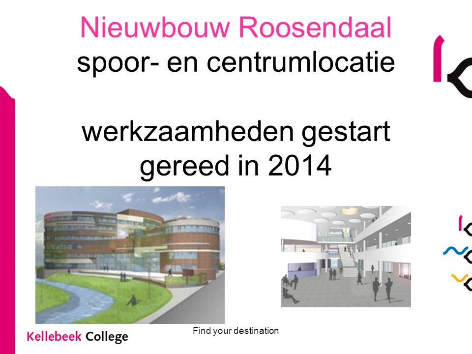 Nieuwbouw Roosendaal spoor- en centrumlocatie werkzaamheden gestart gereed in 2014
