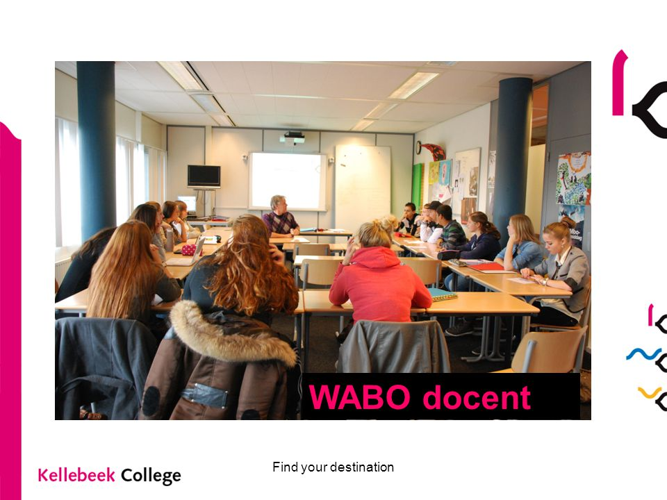 WABO docent Find your destination