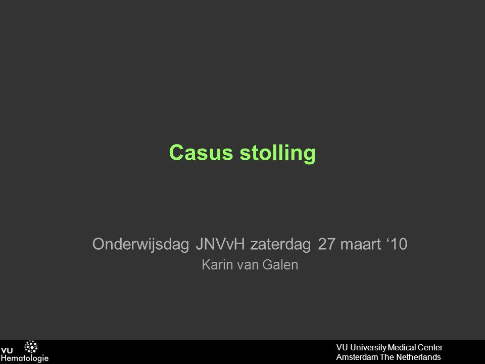 Onderwijsdag JNVvH zaterdag 27 maart '10 Karin van Galen