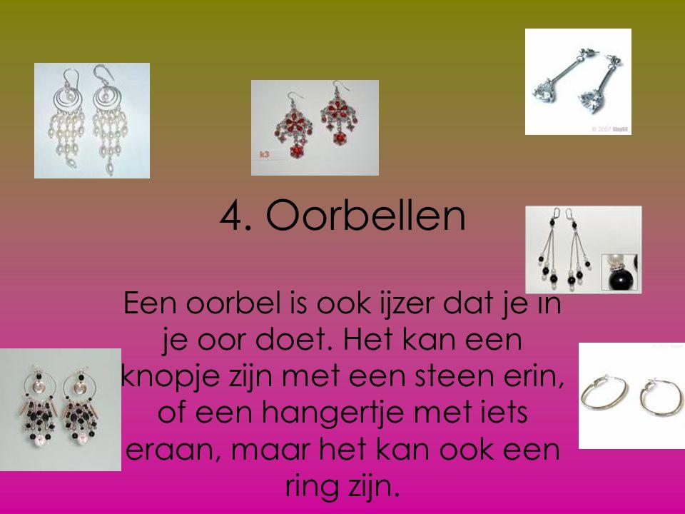 4. Oorbellen