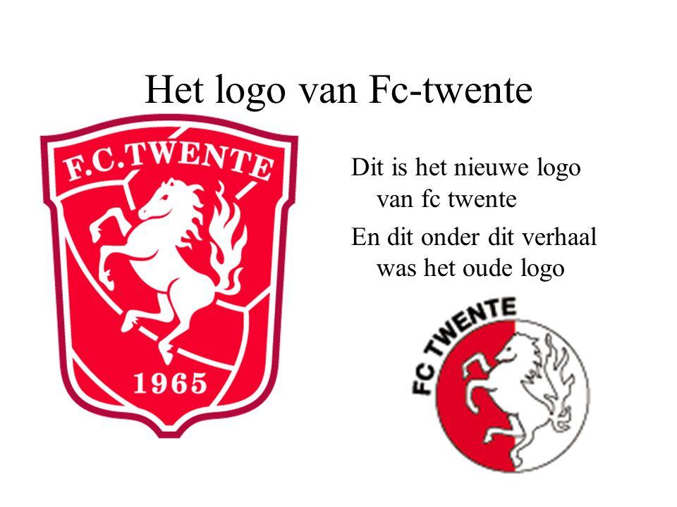 Het logo van Fc-twente Dit is het nieuwe logo van fc twente