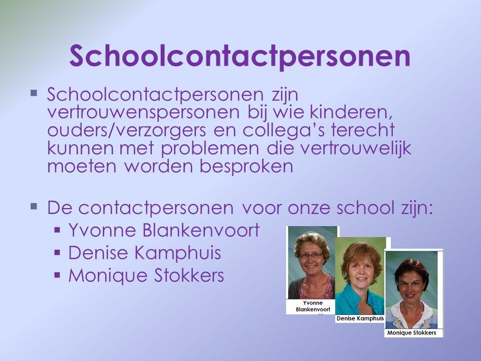 Schoolcontactpersonen