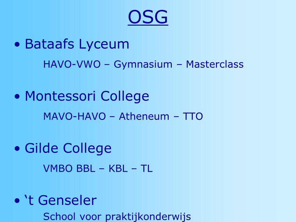 OSG Bataafs Lyceum HAVO-VWO – Gymnasium – Masterclass