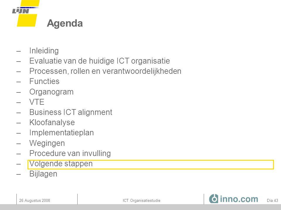 ICT Organisatiestudie