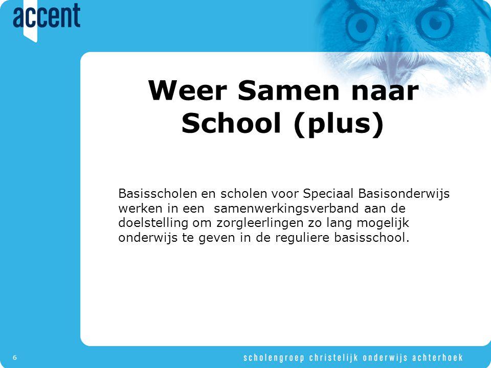 Weer Samen naar School (plus)