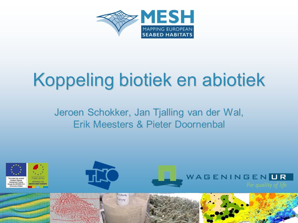 Koppeling biotiek en abiotiek