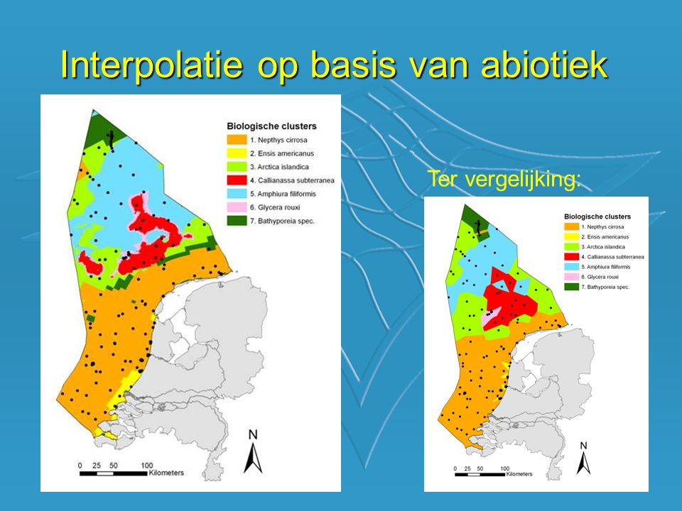Interpolatie op basis van abiotiek