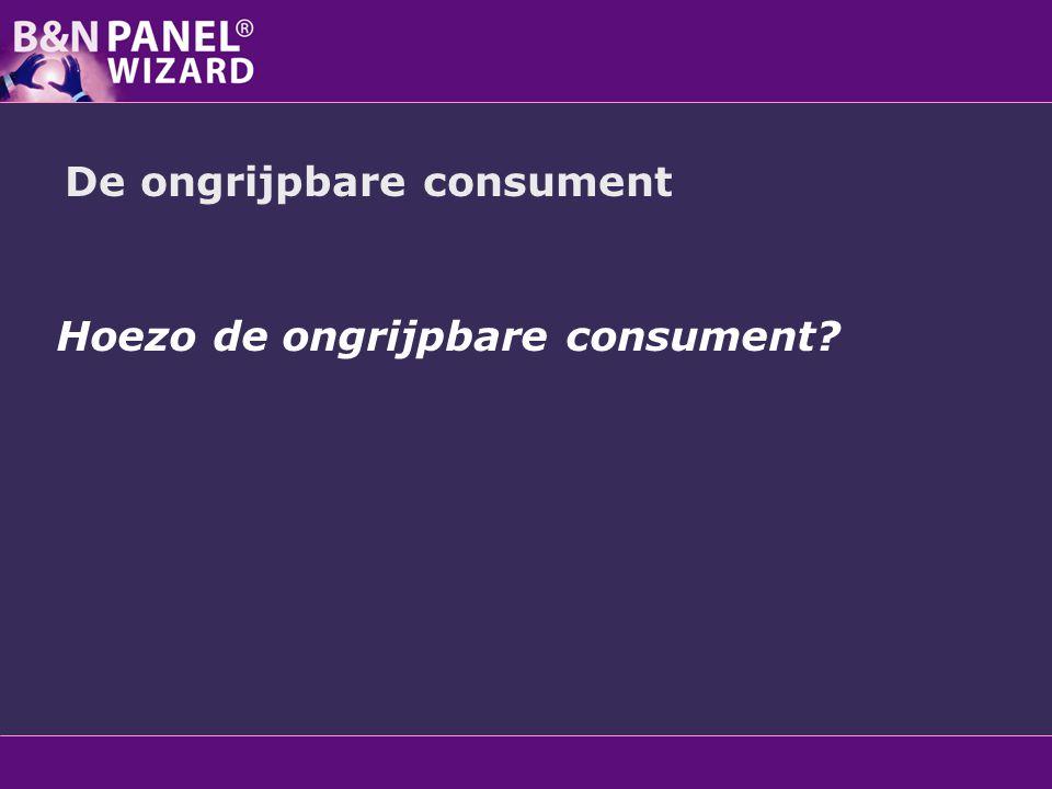 De ongrijpbare consument