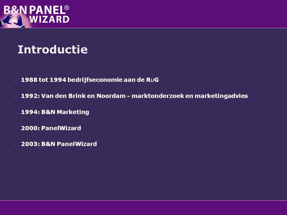 Introductie 1988 tot 1994 bedrijfseconomie aan de RuG