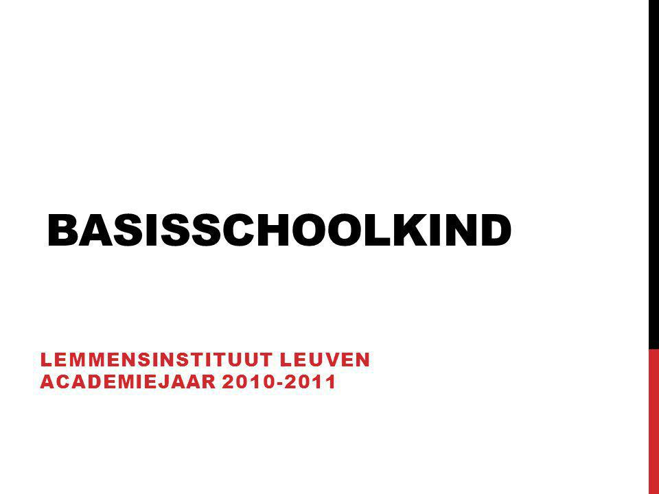 Lemmensinstituut Leuven academiejaar 2010-2011