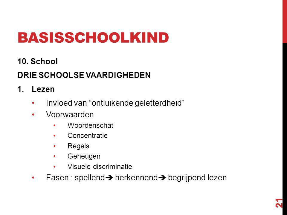 basisschoolkind 10. School DRIE SCHOOLSE VAARDIGHEDEN Lezen
