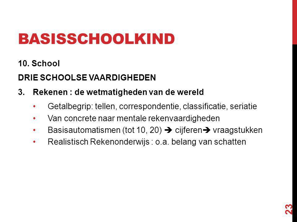 basisschoolkind 10. School DRIE SCHOOLSE VAARDIGHEDEN