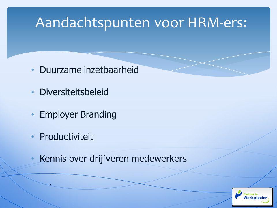 Aandachtspunten voor HRM-ers: