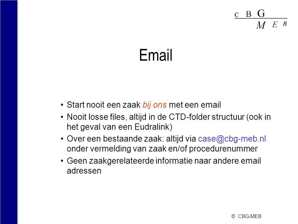 Email Start nooit een zaak bij ons met een email