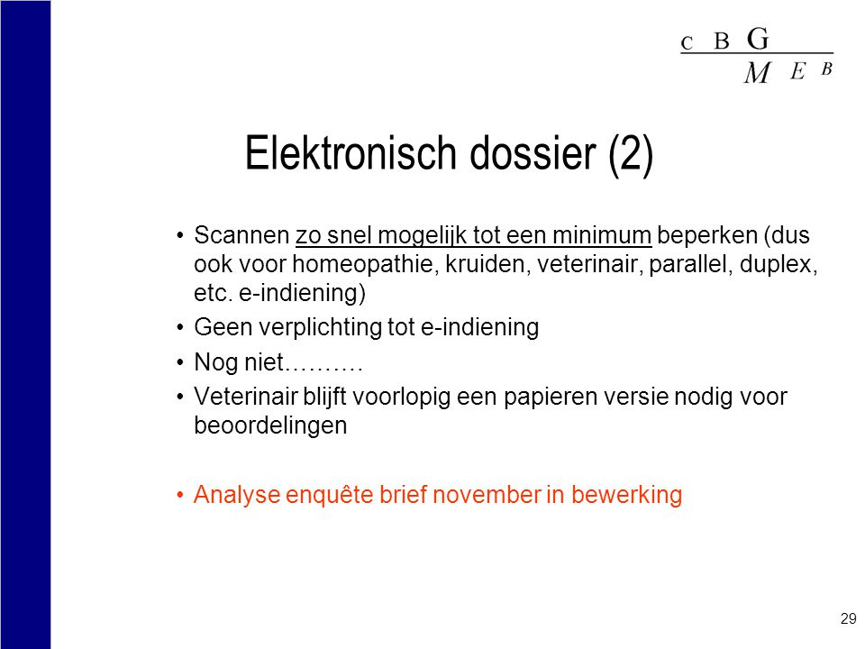 Elektronisch dossier (2)