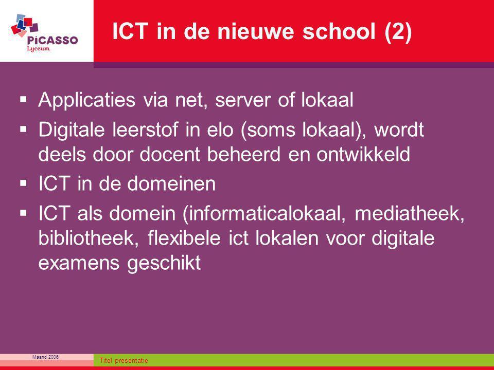 ICT in de nieuwe school (2)