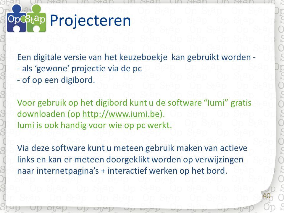 Projecteren