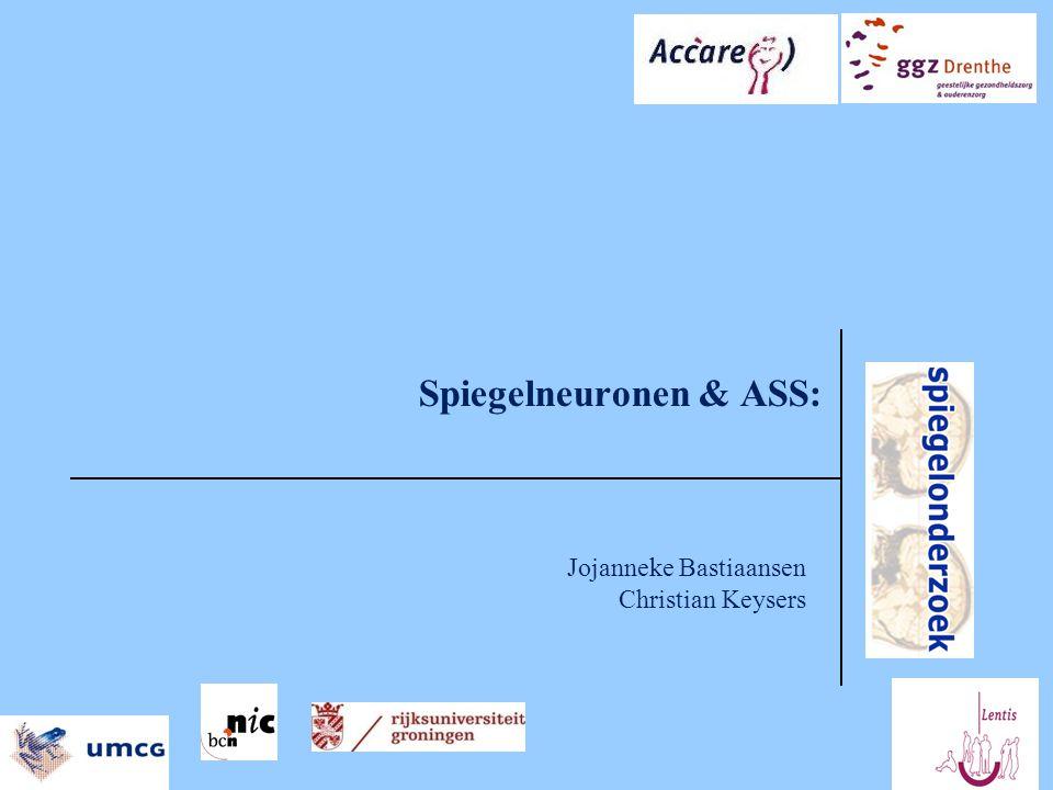 Spiegelneuronen & ASS: