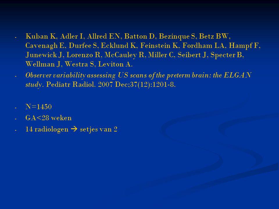 Kuban K, Adler I, Allred EN, Batton D, Bezinque S, Betz BW, Cavenagh E, Durfee S, Ecklund K, Feinstein K, Fordham LA, Hampf F, Junewick J, Lorenzo R, McCauley R, Miller C, Seibert J, Specter B, Wellman J, Westra S, Leviton A.