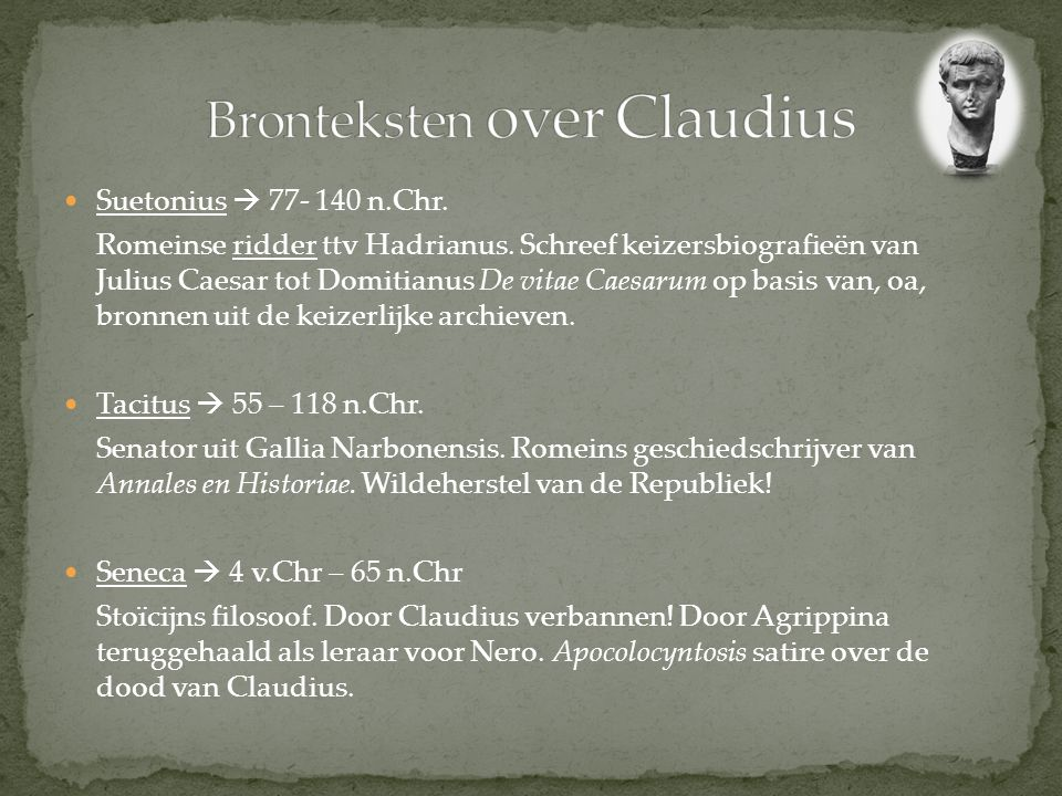 Bronteksten over Claudius