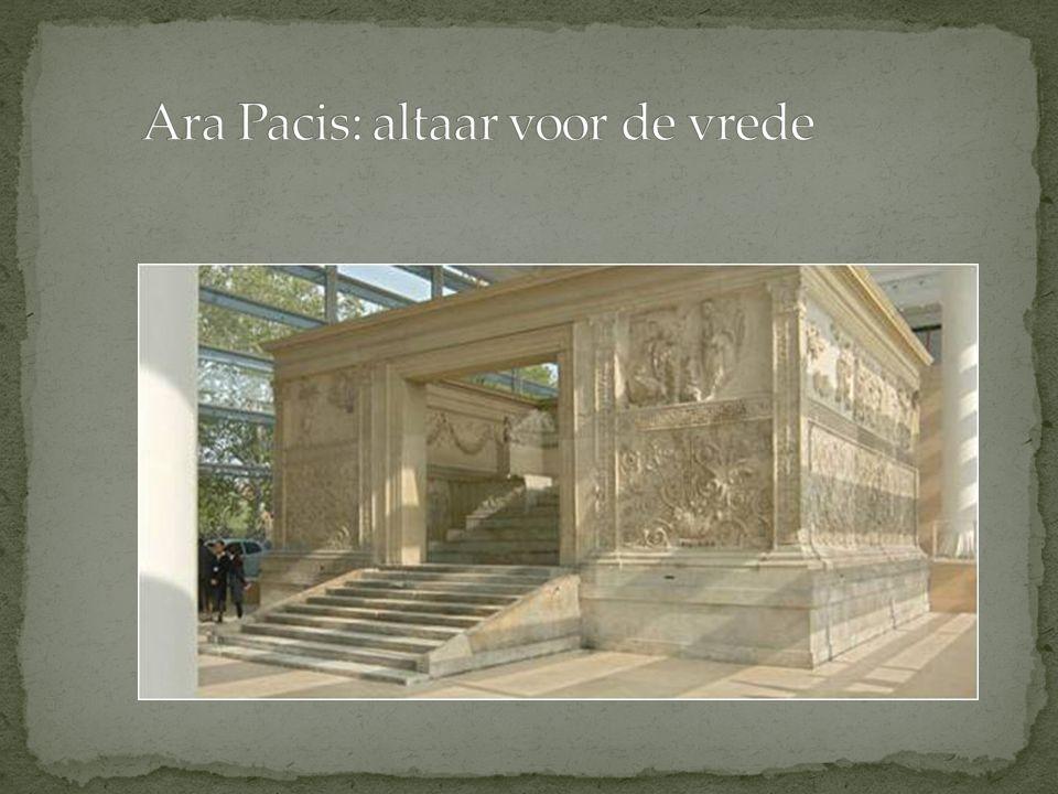 Ara Pacis: altaar voor de vrede