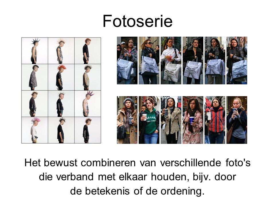 Fotoserie Het bewust combineren van verschillende foto s