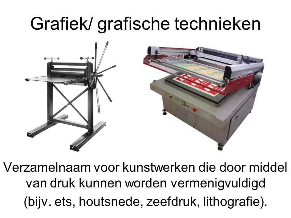 Grafiek/ grafische technieken