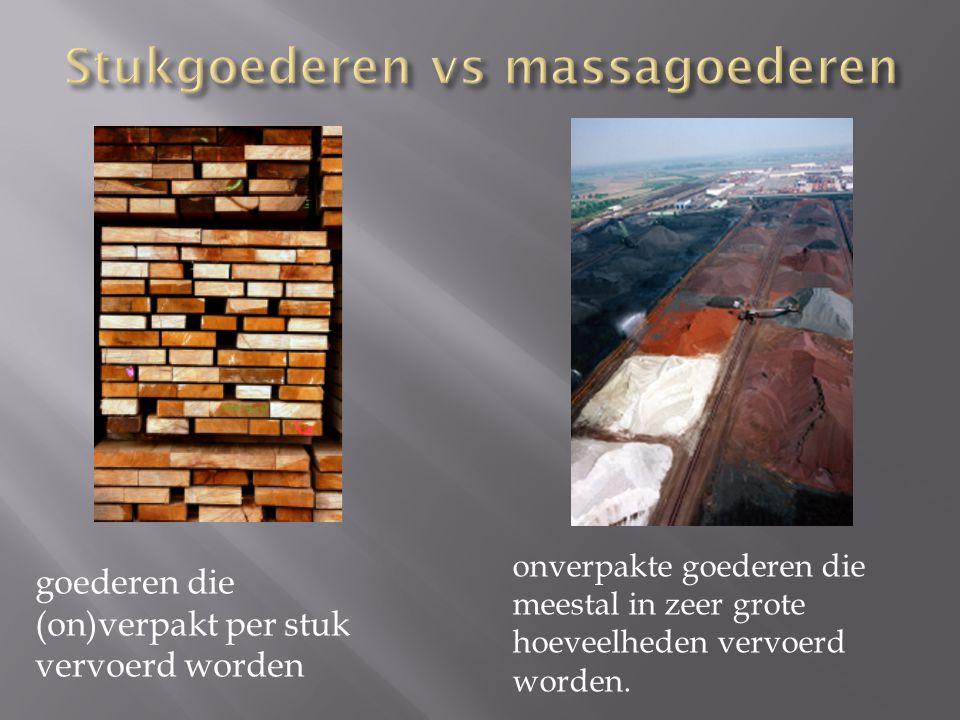 Stukgoederen vs massagoederen