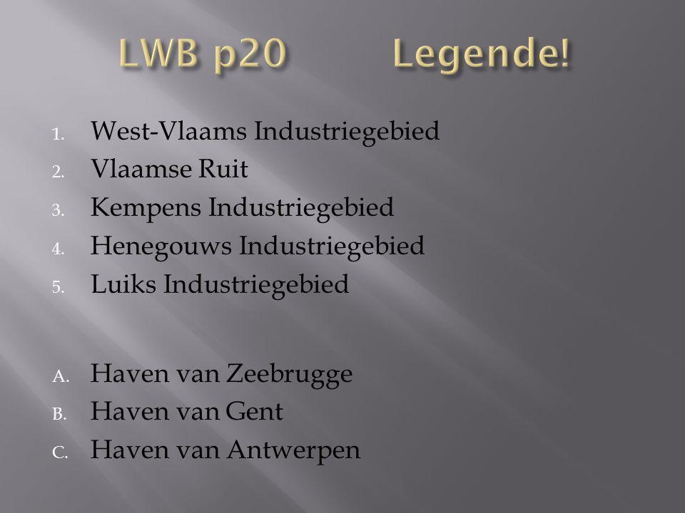 LWB p20 Legende! West-Vlaams Industriegebied Vlaamse Ruit