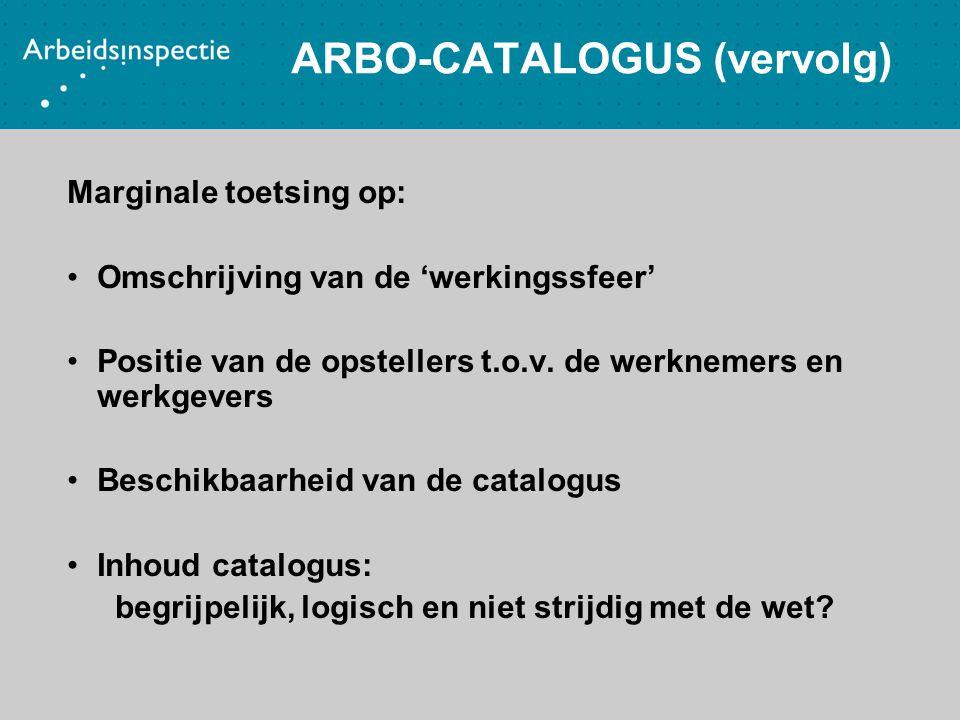 ARBO-CATALOGUS (vervolg)