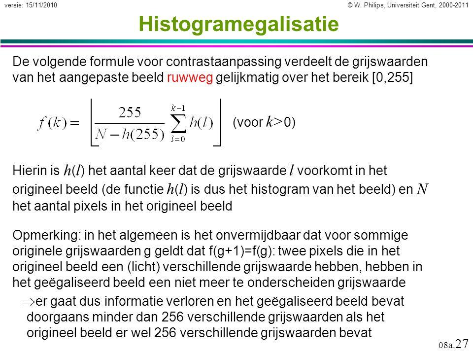 Histogramegalisatie