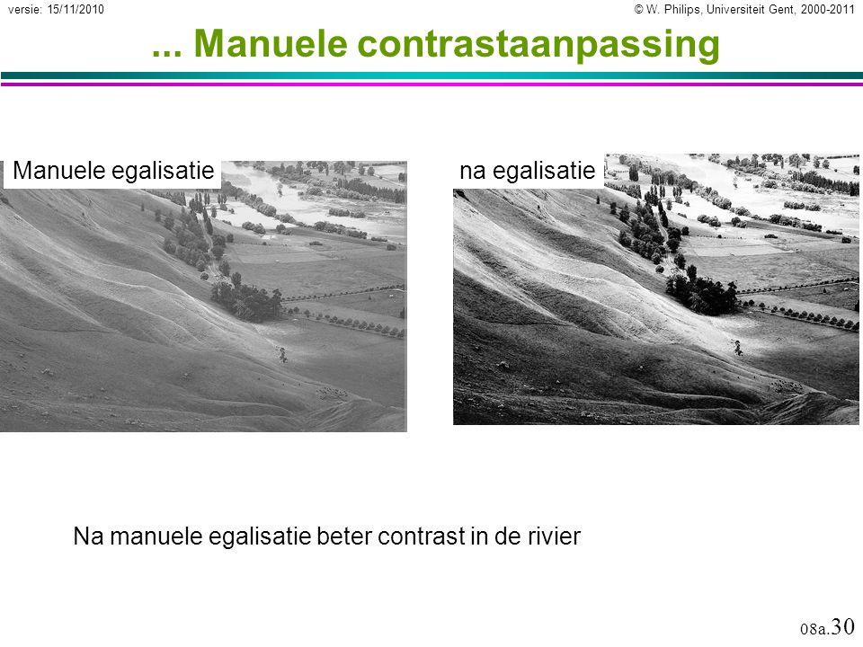 ... Manuele contrastaanpassing